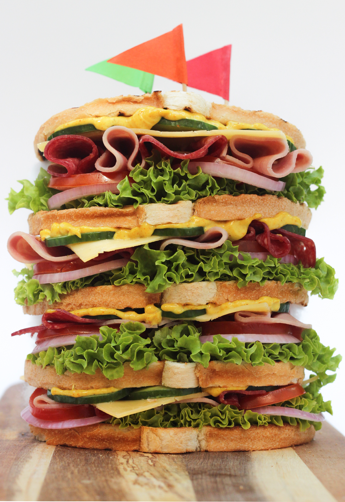 ultimate sandwich foodstyling